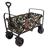 LLSS Garden Trolley,Foldable Outdoor Ideal For Using The Garden Camping At The Beach At Festivals Etc Trolley with Brake Trailer