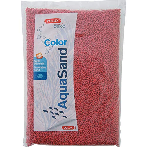 Aquasand Color Rouge Framboise 1Kg