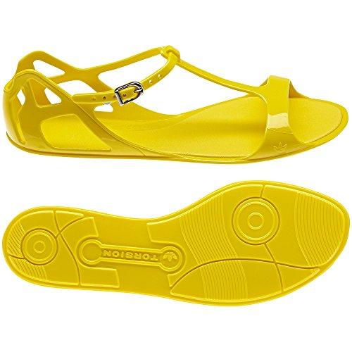 adidas ZX Sandal W Sandalias Mujer Amarillo, color, talla 38