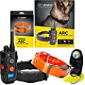 Dogtra ARC 2-Dogs Remote Training Collar - 3/4 Mile Range, Waterproof, Rechargeable, Static, Vibration - Includes PetsTEK Dog Training Clicker