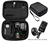 Case for Body Camera, Action Camera Like Veho VCC003, VCC005 MUVI HD10, HDPRO, PNZEO F5, Transcend TS32GDPB10A, Pyle PPBCM9, Miufly 1296P, R-Tech HD Night Version Camera, SD Card Pockets