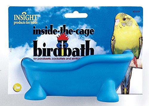 JW Pet Insight Inside the Cage Bird Bath Bird Toy - Pack of 3