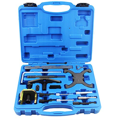 DPTOOL Engine Tool for Ford 1.4 1.6 1.8 2.0 Di/TDCi/TDDi Engine Timing Tool Master Kit, Also for Mazda