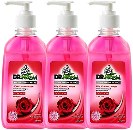 Dr. Neem Exotic Rose Liquid Hand wash