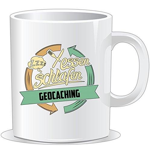 getshirts - Rahmenlos® Geschenke - Tasse - Sport Geocaching - Uni Uni