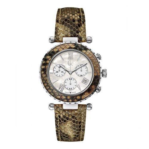 GC x43003m1s–Uhr für Frauen, Leder-Armband Mehrfarbig