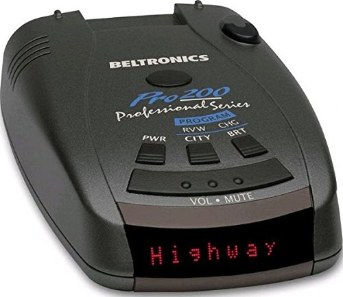 Why Choose Beltronics PRO200 Radar/Laser Detector