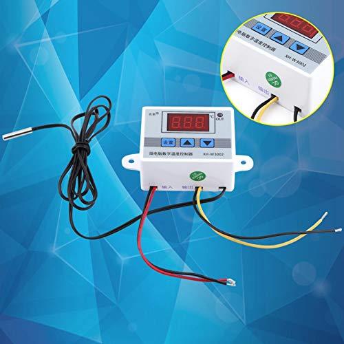Controlador de temperatura, interruptor de temperatura resistente al agua duradero, alta precisión para el área de eclosión del sistema de aire acondicionado(DC24V)