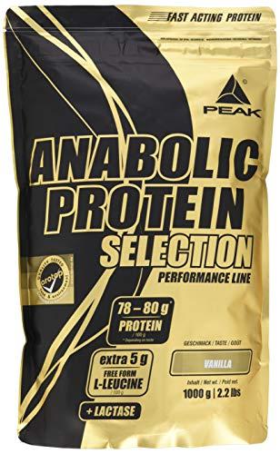 PEAK Anabolic Protein Selection 1000g | Premium Protein| Arotop Qualitätssiegel (Vanilla)