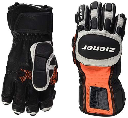Ziener Kinder LEXO JUNIOR glove race Ski-Handschuhe, Poison Orange, 7.5