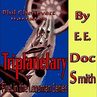 Triplanetary audiobook cover art
