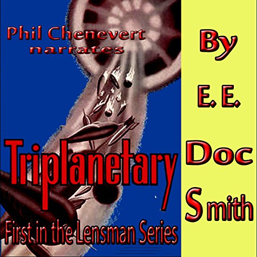 Triplanetary audiobook cover art