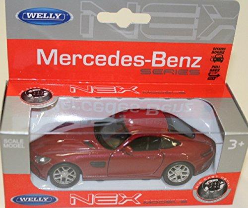 Welly Nex Modellauto Mercedes AMG GT dunkelrot