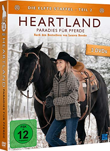 519PSLf8RvL - Heartland - Paradies für Pferde: Staffel 11.2 (Episode 10-18) [3 DVDs]