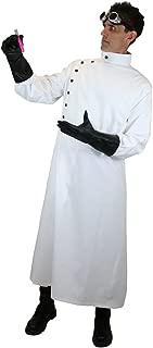 Historical Emporium Men's Cotton Twill Mad Scientist Howie Lab Coat