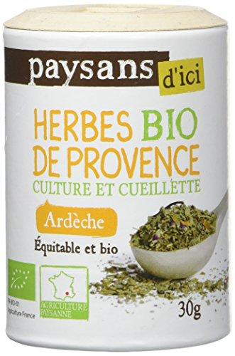 Paysan d'Ici Herbes de Provence Ardèche Bio 30 g