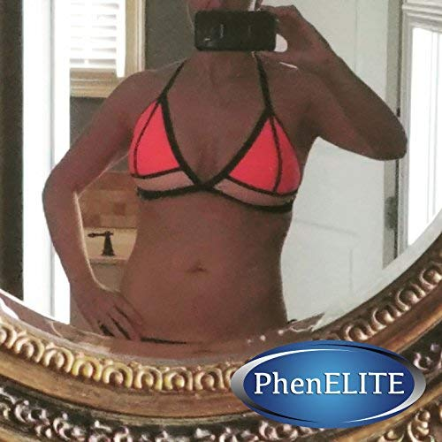 PhenELITE - HIGHEST Rated Pharmaceutical Grade Weight Loss Diet Pills - Fast Weight Loss, Hyper-Metabolising Fat Burner and Appetite Suppressor - Carb Blocker - Natural Raspberry Ketone Blend With African Mango, Acai Fruit, Green Tea Extract, Resveratrol, Apple Cedar Vinegar, Grapefruit Extract and Kelp- 30 Day Supply - Lose Weight 100% Guaranteed! (Over 1800 Positive 5 star Reviews on Amazon.com scroll down to read)