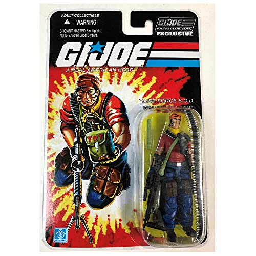 GI Joe Club Tunnel Rat Tiger Force E.O.D Action Figure