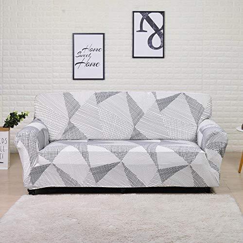 Funda de sofá elástica para Sala de Estar Funda de sofá de Licra para sofá de Esquina Funda de sillón A12 4 plazas