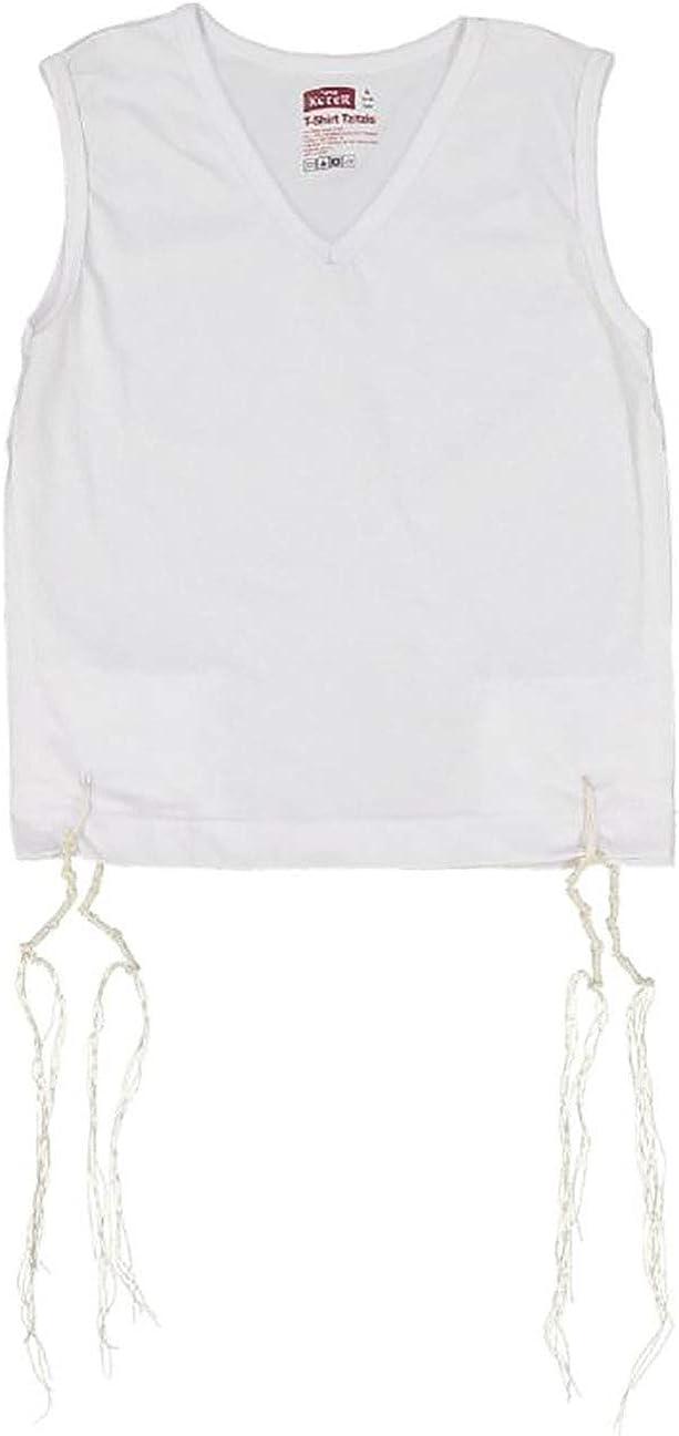 Very popular PerfTzit V-Neck Undershirt Tzitzis Keter Ashkenazi fo Meyuchad Super sale period limited -