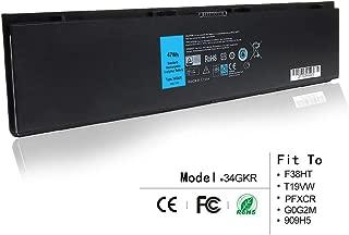 LQM 7.4V 47Wh New Laptop Battery for Dell Latitude E7420 E7440 E225846,Compatible P/N: 34GKR F38HT T19VW PFXCR G0G2M 909H5