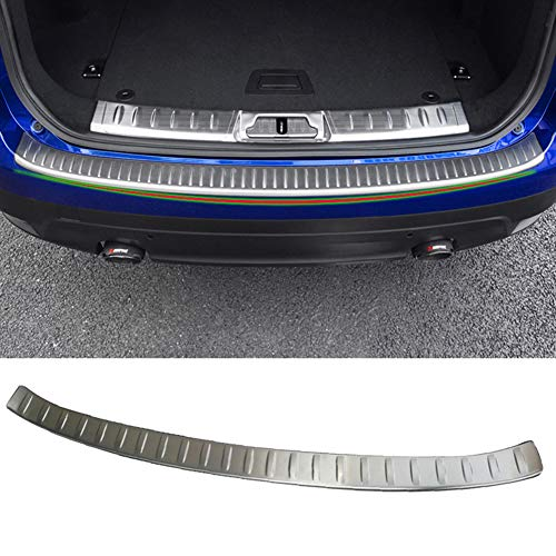 ASDNN Stainless Steel Trunk Tread Car styling Rear Bumper Protector Sill for Jaguar F-PACE 2016-2020