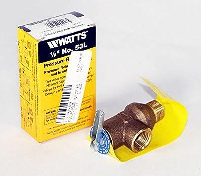 Watts Regulator 0121443 LEAD FREE 1/2 150 PSI PRESSURE RELIEF VALVE REPLACES 53L-150 by WATTS REGULATOR