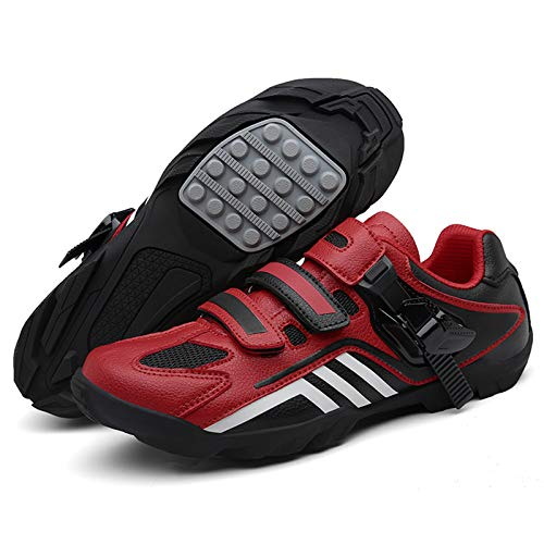 RBEUT Unlooked Cycling Shoes Unisex Look Free MTB Shoes Unlooked Road Bike Shoes Cycling Sneakers Look Free Cycling Shoes Look Free Spin Shoes Peloton Shoes