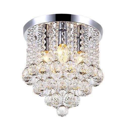 DXX-HR Luz de techo llevada redonda de cristal for la sala de estar cubierta de la lámpara decoración del hogar