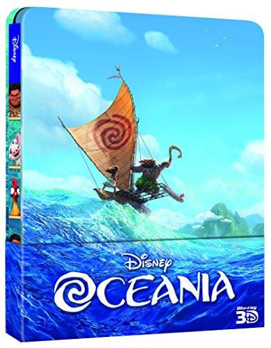 Oceania (Blu-Ray 3D Steelbook + 2D);Moana