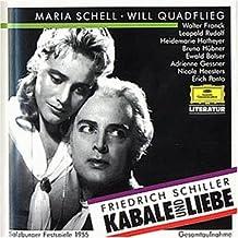 Kabale Und Liebe Schell/Quadflieg/+ Cd