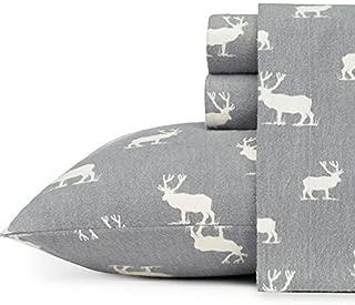 Eddie Bauer Elk Grove Flannel Sheet Set, Full