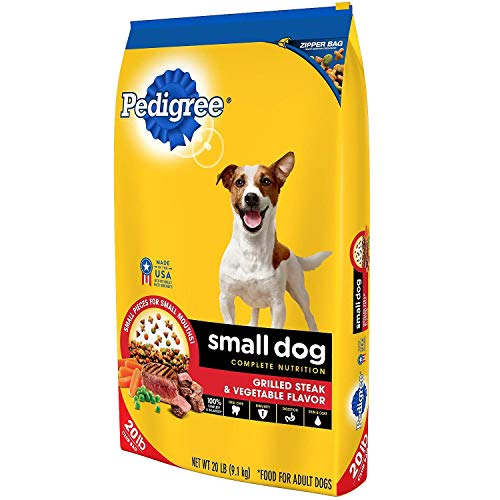 Pedigree Small Dog Targeted Nutrition Dog Food, Steak & Vegetable (20 lbs.) by Pedigree
