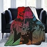 Cowboy Bebop Super Soft Flannel Fleece Lightweight Living Room/Bedroom air Conditioning Blanket 50'X40'