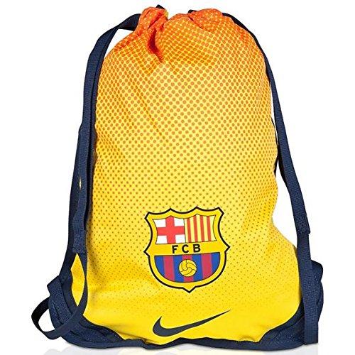 NIKE FC Barcelona Allegiance Gym SA Bolsa, Hombre, Amarillo/Azul Oscuro/Rojo, Talla Única