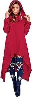Women Pullover Hoodies Sweatshirt Long Sleeve Oversize Top Shirt Dress