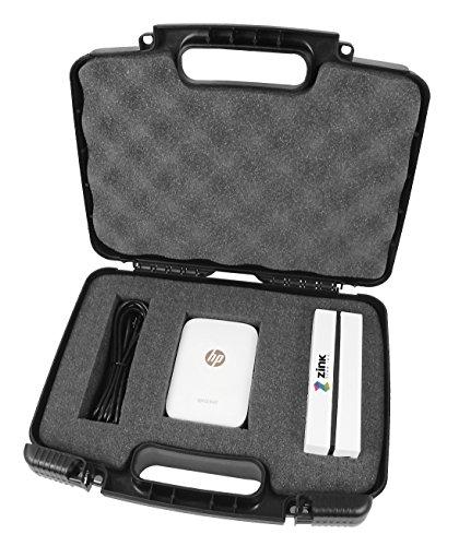 CASEMATIX Customizable Foam Protective Portable Photo Printer Hard Case for HP Sprocket Printer