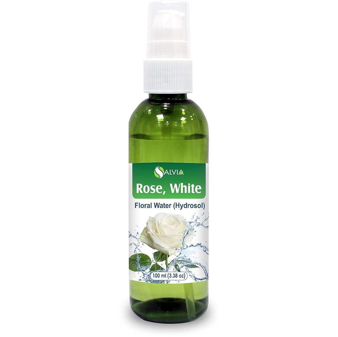 ミニ縫うベルベットRose White Floral Water 100ml (Hydrosol) 100% Pure And Natural
