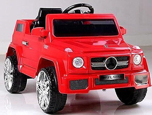 Kinderfahrzeug - Elektro Auto GL - 12V Akku,2 Motoren- 2,4Ghz Fernsteuerung, MP3- Rot