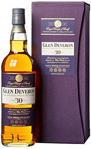 Glen Deveron 30 Years Old mit Geschenkverpackung Whisky (1 x 0.7 l)