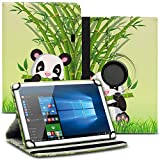UC-Express Tablet Schutzhülle kompatibel für Asus ZenPad 10 Z301ML Z301MFL Z300M Hülle Tasche 360° Drehbar Kunstleder Standfunktion Cover Universal Hülle, Farben:Motiv 11