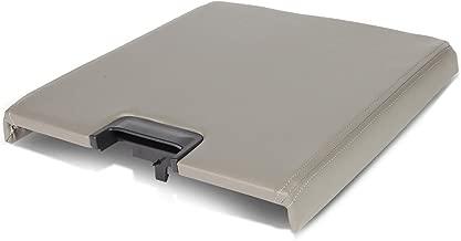 Grey Center Console Arm Rest Lid Kit w/Latch for Silverado Tahoe Sierra Yukon XL Escalade 07-14