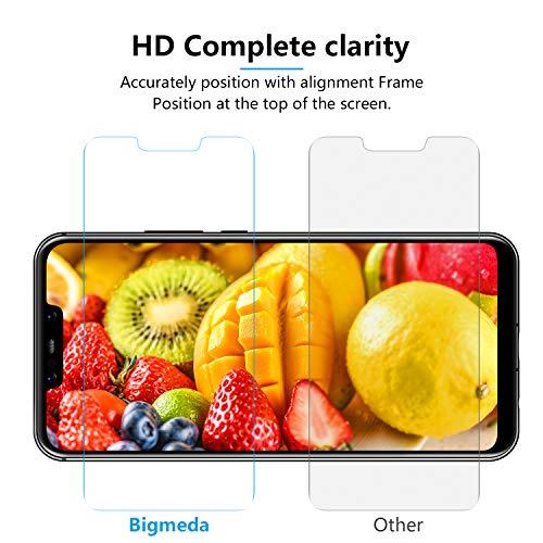 Bigmeda Schutzfolie für Huawei Mate 20 Lite,Blasenfrei, Anti-Kratzen, Anti-Öl, HD Klar Flexible Displayschutzfolie für Huawei Mate 20 Lite Folie [3 Stück] - 5