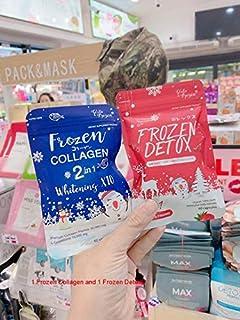 Sponsored Ad - Collagen Glutathione x10 Younger Whitening Lightenin Skin Reduce Acne Hair Nails + Frozen Detox