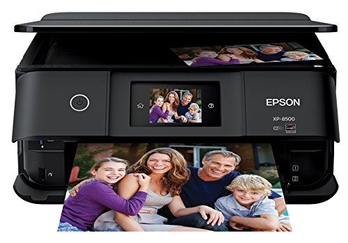 Epson Expression Photo XP-8500 Wireless Color Photo Printer with Scanner and Copier, Amazon Dash Replenishment Ready