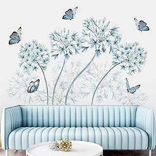 Sticker Mural Diy Pissenlit Papillon Sticker Mural Vinyle Art Stickers Muraux Enfants Pépinière Papier Peint Salon Décorat...