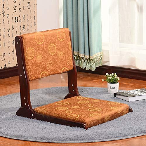 Acolchado Plegable Sillas De Suelo Zaisu,japonés Tatami Silla Sin Patas Cama,Plegable Silla del Piso Apoyo Yoga Meditación Lectura-f