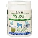 ドクターヴォイス (DR.VOICE) 愛犬にやさしい サプリメント マルチビタミン&ミネラル+乳酸菌 100g