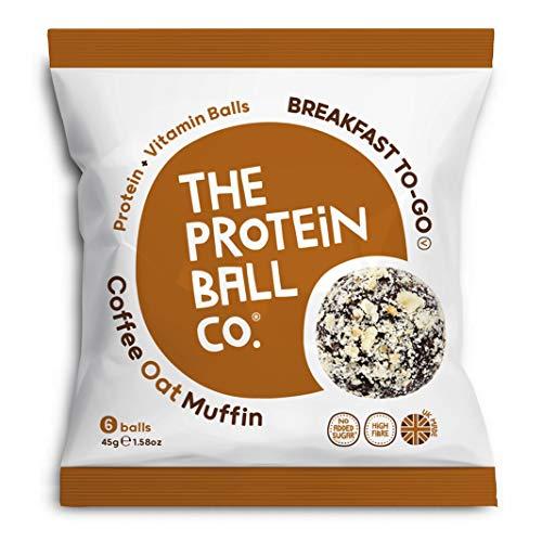 Protein Ball co Coffee Oat Muffin Protein Plus Vitamin Balls, 45 g