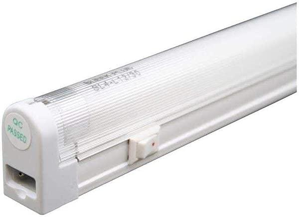 Saunter T5 21 Watt 4100k 34 1 2 Fluorescent Fixture Set 3 Prong Unit